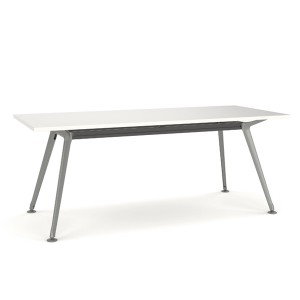 Team Table Silver Frame 1800