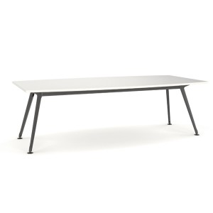Team Table Black Frame 2400