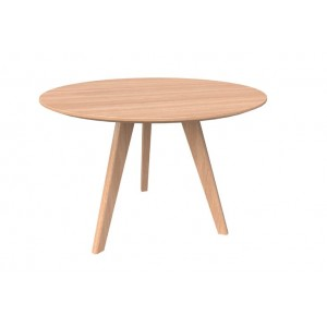 Oslo Round Meeting Table Ash 900mmR and 1200mmR