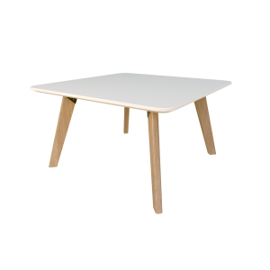 Oslo Coffee Table Rectangular White 600mm up to 1200mm