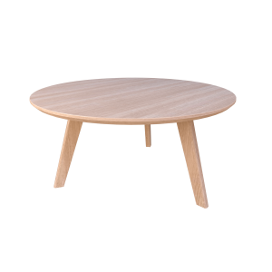 Oslo Coffee Table Round Venner Top 600mmR & 800mmR