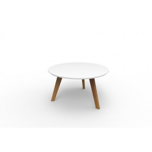 Relax Coffee Table Round White