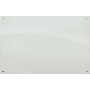 White Magnetic Glassboard 900mm x 600mm