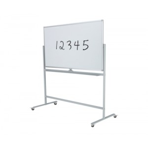Porcelain Steel Mobile Whiteboard 1200 x 1500