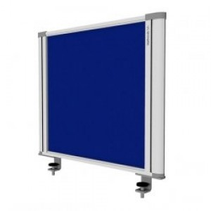 Desk Mounted Screen Blue 450 x 560