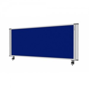 Desk Mounted Screen Blue 450 x 1160