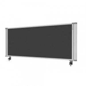 Desk Mounted Screen Charcoal 450 x 1760