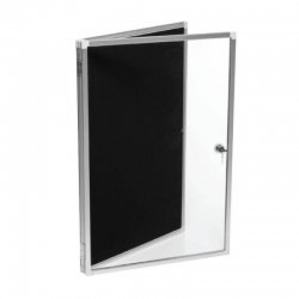 Pinboard display case 600 x 900 for Office display board
