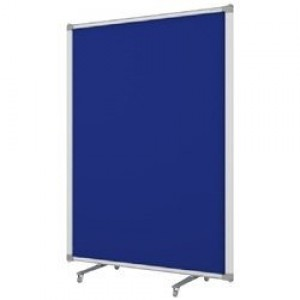 Free Standing Partitions Blue Fabric 900 x 1500
