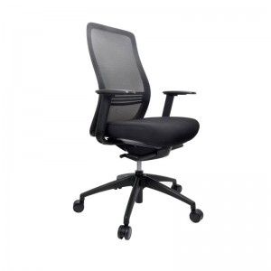 Konfurb Luna Chair Black Armed
