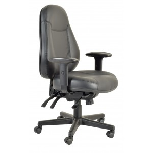 Buro Persona Leather Chair - 160KG Rating