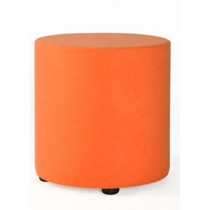 Chair Solutions - Ottoman 450 Drum - Synthetic Fabric