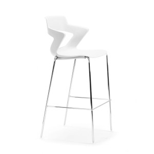 Zen Stool Chrome