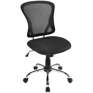 Brenton Mesh Back Chair Black