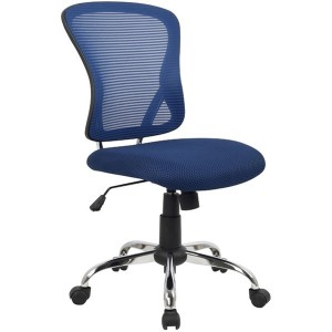 Brenton Mesh Back Chair Blue