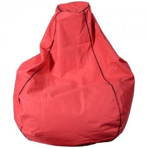 Kura Bean Bag - Red
