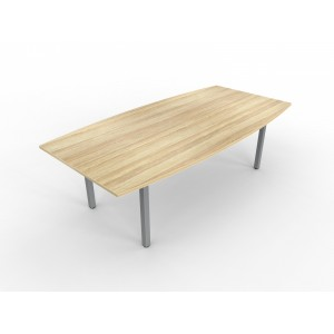 Cubit Boardroom Table 2400 Atlantic Oak