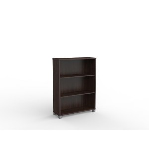 Cubit Bookcase 1200H Dark Oak