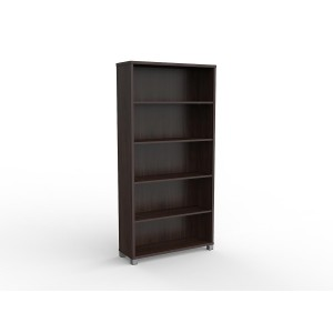 Cubit Bookcase 1800H Dark Oak