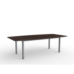 Cubit Boardroom Table 2400 Dark Oak