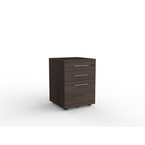 Cubit 2 Drawer and File Mobile Dark Oak