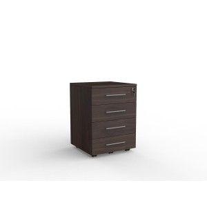 Cubit 4 Drawer Mobile Dark Oak