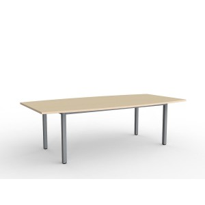 Cubit Boardroom Table 2400 Nordic Maple