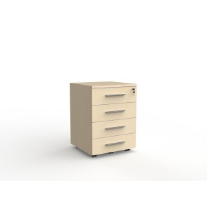 Cubit 4 Drawer Mobile Nordic Maple