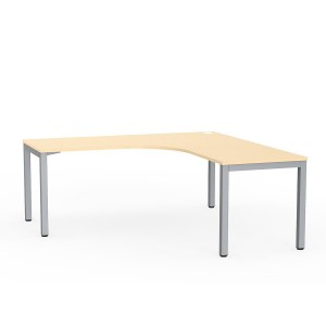 Cubit Managerial Workstation 1800 x 1800 Nordic Maple