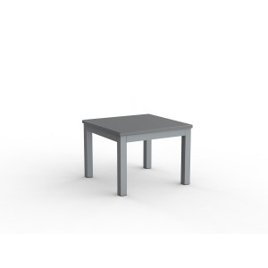 Cubit Coffee Table 600 x 600 Silver