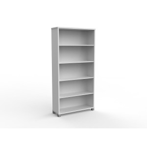 Cubit Bookcase 1800H White