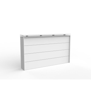 Cubit  Reception Facade 1800 White