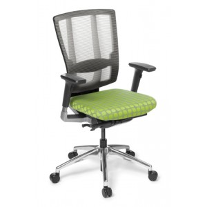 EOS Cloud Mesh Back Fabric Seat