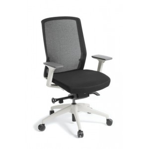 EOS - Track Arm Chair White