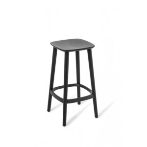 Babila Stool Bench Black Stained Ash