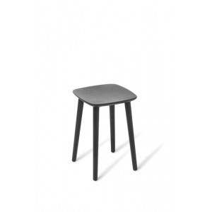 Babila Stool Low Black Stained Ash