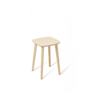 Babila Stool Low Bleached Ash