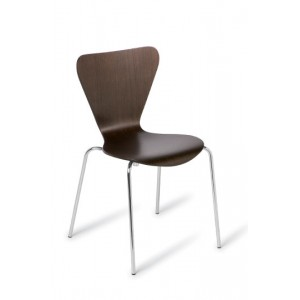 Cafe' Circus Chair Dark Oak
