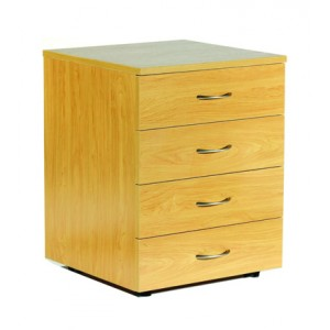 Ergoplan Std 4 Drawer Mobile Pedestal