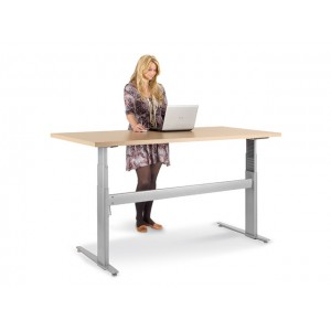 ADJUSTABLE HEIGHT DESKING