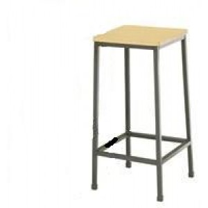 LookSmart Square Customwood Stool