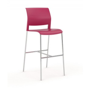 Game Stool Red