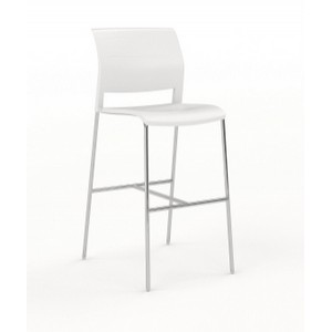 Game Stool White