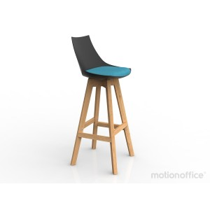 Luna Stool Black