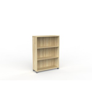 Cubit Bookcase 1200H Atlantic Oak