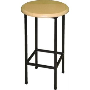 SPECIAL DEAL ROUND CUSTOMWOOD STOOL