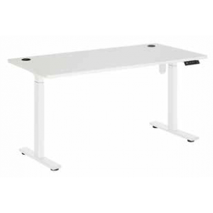 Pulse Electric Sit Stand 1800 Desk White/White