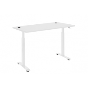 Pulse Pneumatic Sit Stand 1500 Desk White