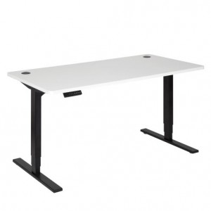 Pulse Electric Sit Stand 1500 Desk Black/White