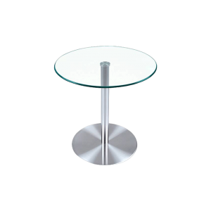 LookSmart Glass Coffee Table 600 Round